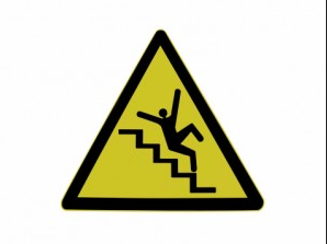 Tripping-on-stairs