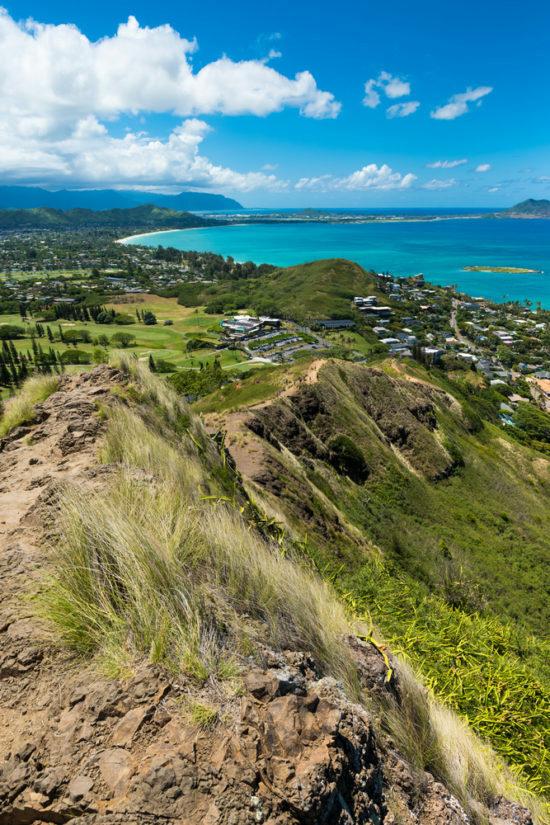 Pillbox Hike Over Kailua Oahu Hawaii